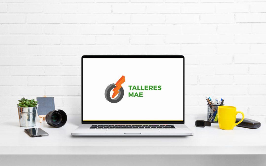 Nueva página web de Talleres Mae